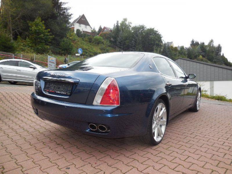 Maserati Quattroporte 4.2 V8 400 ch Bleu occasion à BEAUPUY - photo n°2