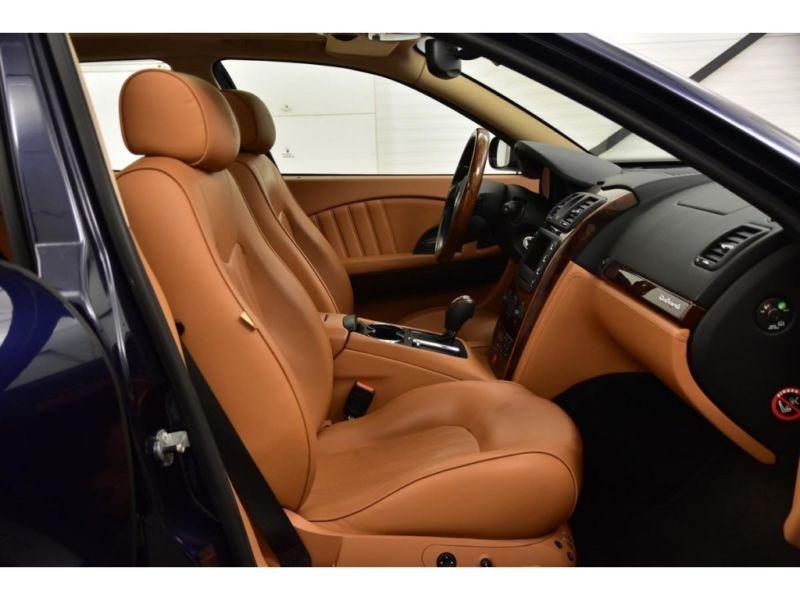 Maserati Quattroporte 4.2 V8 400 ch Noir occasion à BEAUPUY - photo n°5