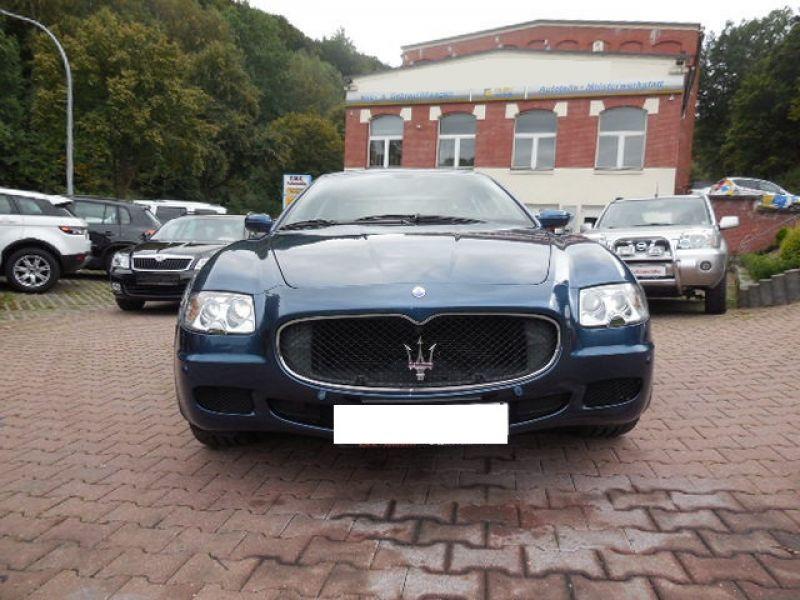 Maserati Quattroporte 4.2 V8 400 ch Bleu occasion à BEAUPUY - photo n°8