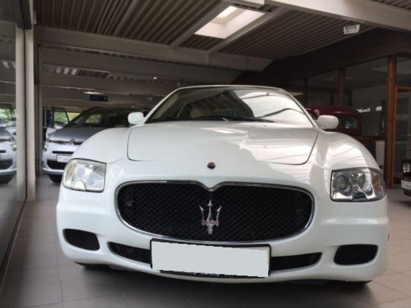 Maserati Quattroporte 4.2 V8 400 ch Blanc occasion à BEAUPUY