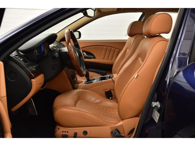 Maserati Quattroporte 4.2 V8 400 ch Noir occasion à BEAUPUY - photo n°3