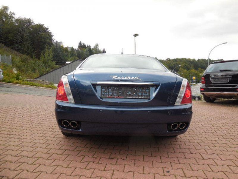 Maserati Quattroporte 4.2 V8 400 ch Bleu occasion à BEAUPUY - photo n°7