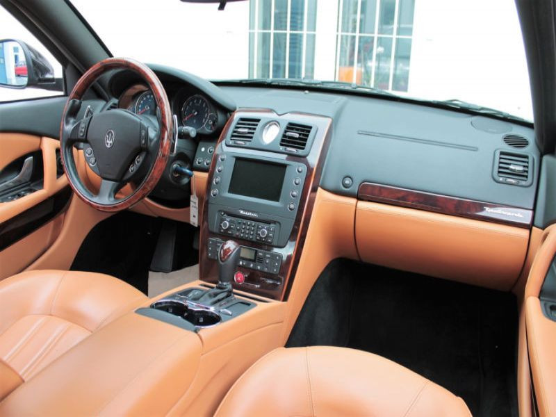 Maserati Quattroporte 4.2 V8 400 ch Noir occasion à BEAUPUY