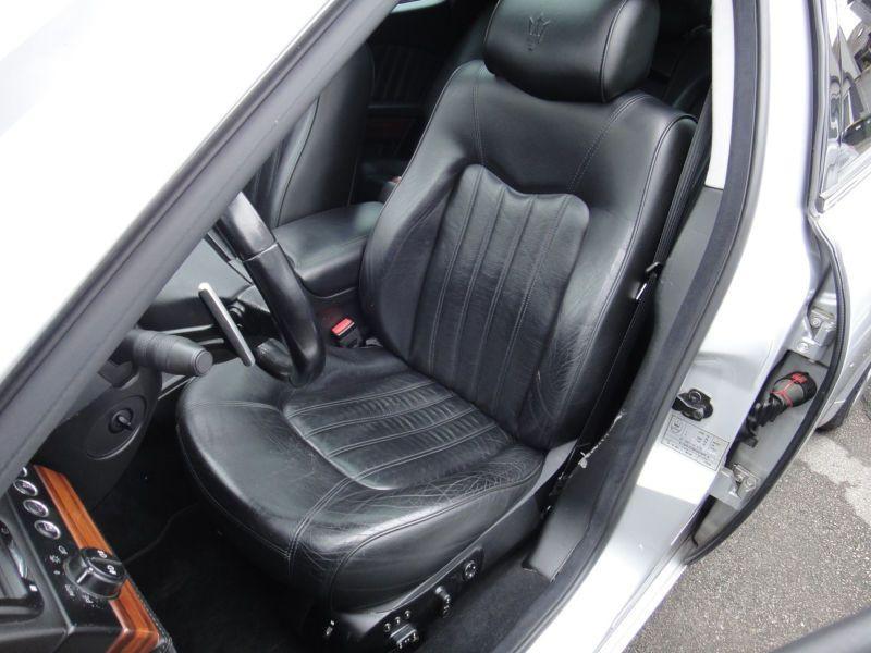 Maserati Quattroporte 4.2 V8 400 ch Argent occasion à BEAUPUY - photo n°3