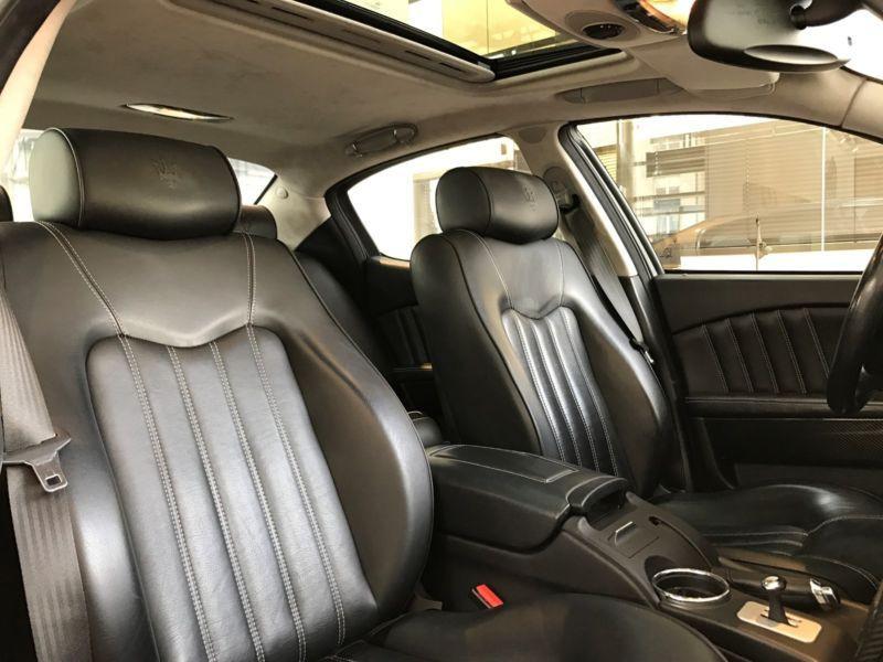 Maserati Quattroporte 4.2 V8 400 ch Gris occasion à BEAUPUY - photo n°3
