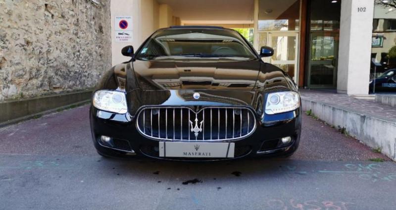 Maserati Quattroporte 4.7 S Bva Noir occasion à Saint-maur-des-fosss - photo n°2