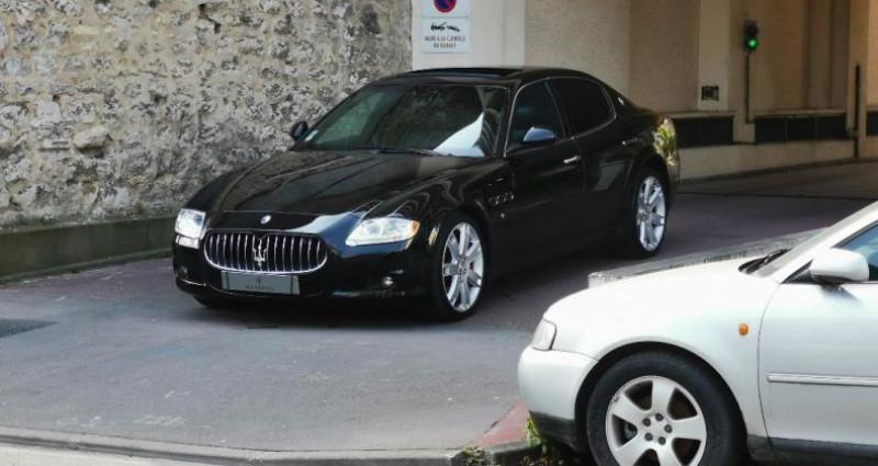 Maserati Quattroporte 4.7 S Bva Noir occasion à Saint-maur-des-fosss