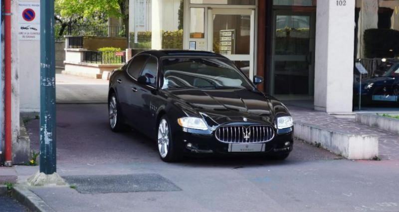 Maserati Quattroporte 4.7 S Bva Noir occasion à Saint-maur-des-fosss - photo n°3