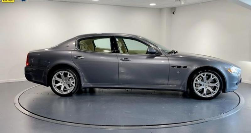 Maserati Quattroporte 4.7 V8 S BA Gris occasion à La Roche Sur Yon - photo n°4