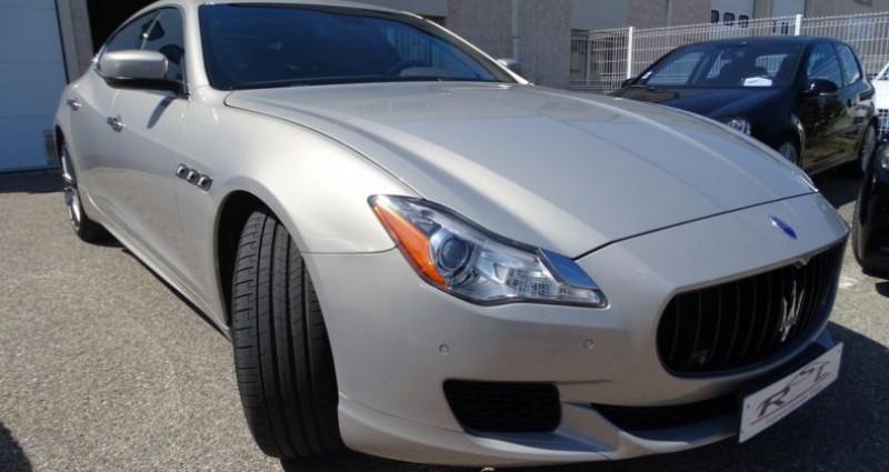 Maserati Quattroporte GTS V8 3.8L 530PS / FULL OPTIONS Argent occasion à CHASSIEU - photo n°4