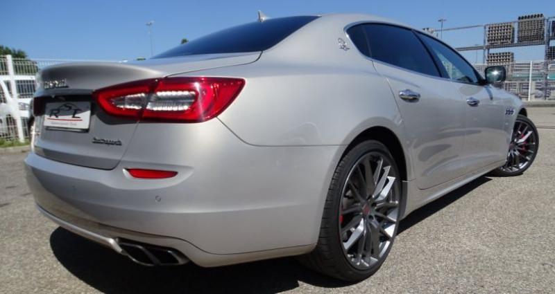 Maserati Quattroporte GTS V8 3.8L 530PS / FULL OPTIONS Argent occasion à CHASSIEU - photo n°5