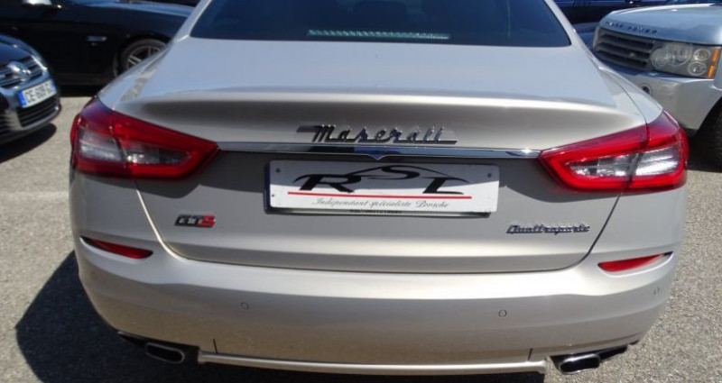Maserati Quattroporte GTS V8 3.8L 530PS / FULL OPTIONS Argent occasion à CHASSIEU - photo n°7