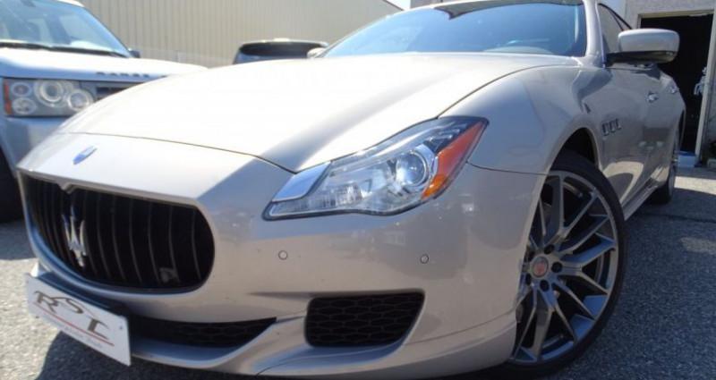 Maserati Quattroporte GTS V8 3.8L 530PS / FULL OPTIONS Argent occasion à CHASSIEU