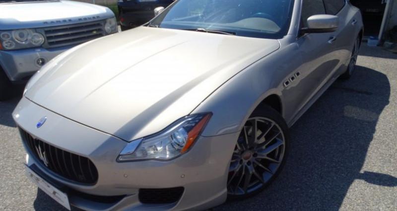 Maserati Quattroporte GTS V8 3.8L 530PS / FULL OPTIONS Argent occasion à CHASSIEU - photo n°2