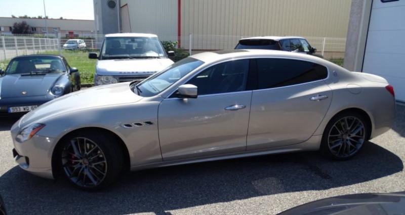Maserati Quattroporte GTS V8 3.8L 530PS / FULL OPTIONS Argent occasion à CHASSIEU - photo n°3