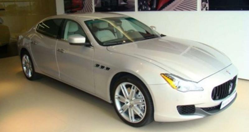 Maserati Quattroporte GTS V8 Beige occasion à Sausheim