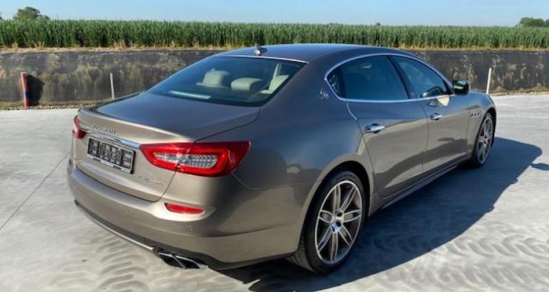 Maserati Quattroporte GTS Gris occasion à Braine Le Comte - photo n°7