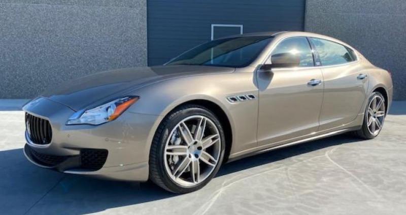 Maserati Quattroporte GTS Gris occasion à Braine Le Comte - photo n°2