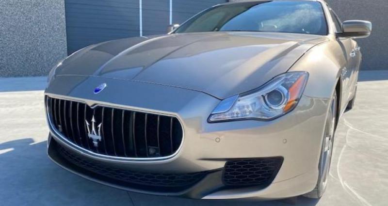 Maserati Quattroporte GTS Gris occasion à Braine Le Comte - photo n°4