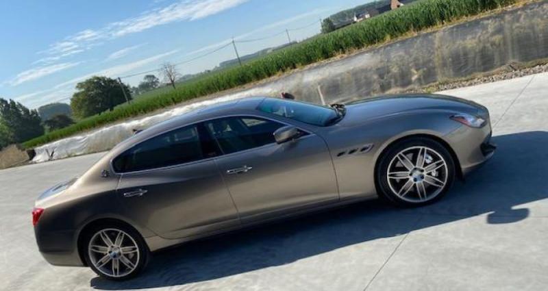 Maserati Quattroporte GTS Gris occasion à Braine Le Comte - photo n°6