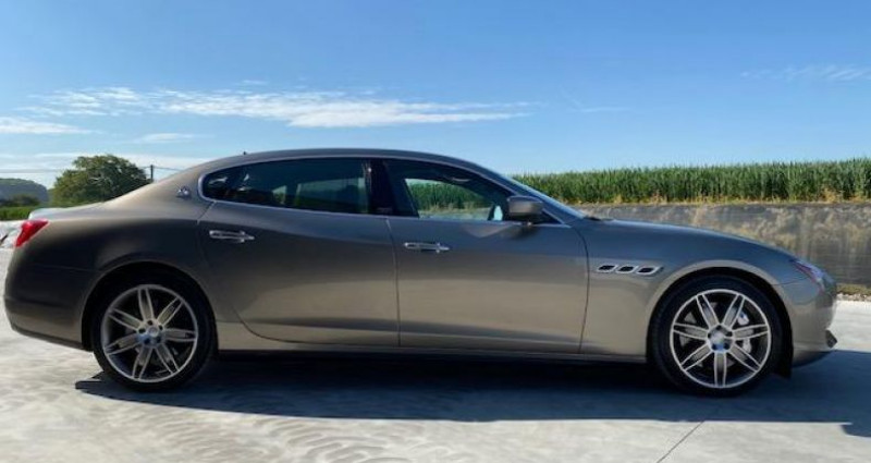 Maserati Quattroporte GTS Gris occasion à Braine Le Comte - photo n°5