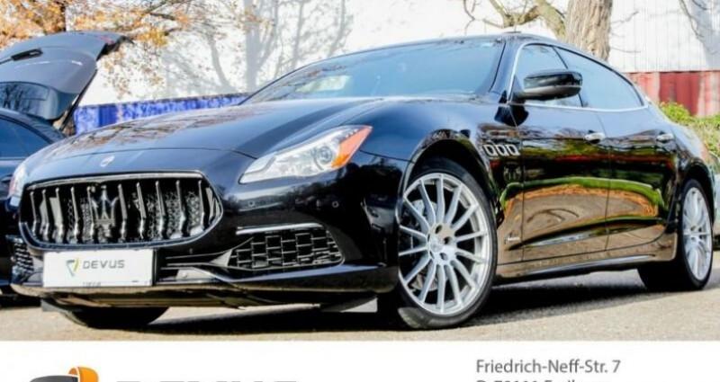 Maserati Quattroporte Maserati Quattroporte SQ 4 GranSport 316 kW (430 Ch DIN) Noir occasion à Mudaison