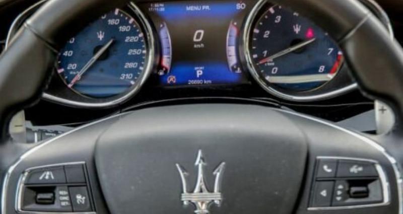 Maserati Quattroporte Maserati Quattroporte SQ 4 GranSport 316 kW (430 Ch DIN) Noir occasion à Mudaison - photo n°7