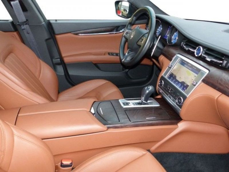 Maserati Quattroporte Q4 3.0 V6 S 410 ch Noir occasion à BEAUPUY - photo n°3