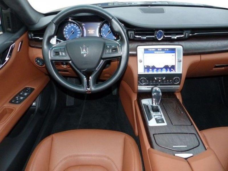 Maserati Quattroporte Q4 3.0 V6 S 410 ch Noir occasion à BEAUPUY