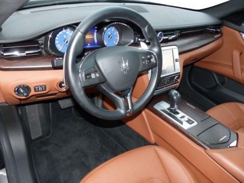 Maserati Quattroporte Q4 3.0 V6 S 410 ch Noir occasion à BEAUPUY - photo n°4