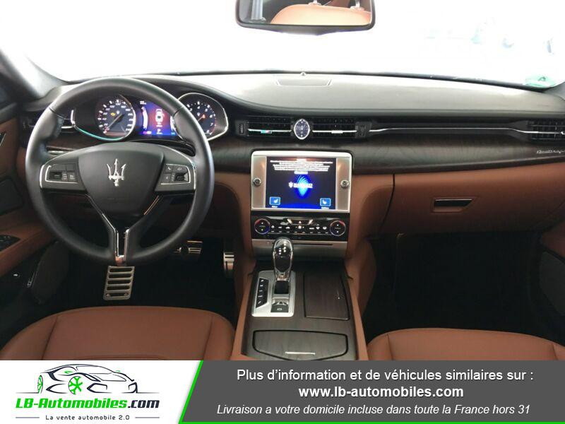 Maserati Quattroporte V6 3.0 Bi-Turbo 410 S Q4 / A Noir occasion à Beaupuy - photo n°2
