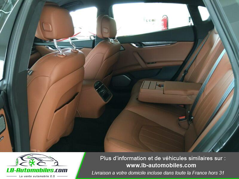 Maserati Quattroporte V6 3.0 Bi-Turbo 410 S Q4 / A Noir occasion à Beaupuy - photo n°13