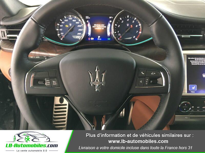 Maserati Quattroporte V6 3.0 Bi-Turbo 410 S Q4 / A Noir occasion à Beaupuy - photo n°5