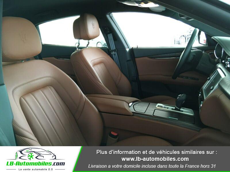Maserati Quattroporte V6 3.0 Bi-Turbo 410 S Q4 / A Noir occasion à Beaupuy - photo n°15