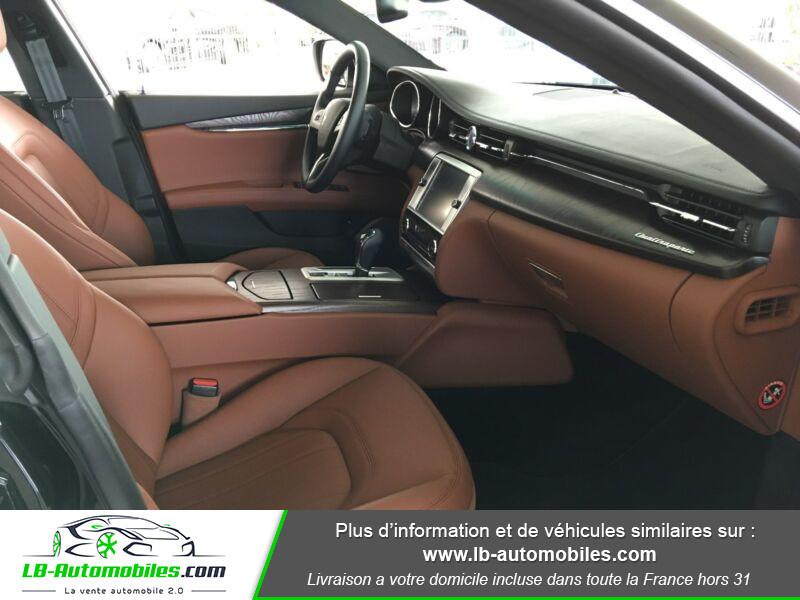 Maserati Quattroporte V6 3.0 Bi-Turbo 410 S Q4 / A Noir occasion à Beaupuy - photo n°8