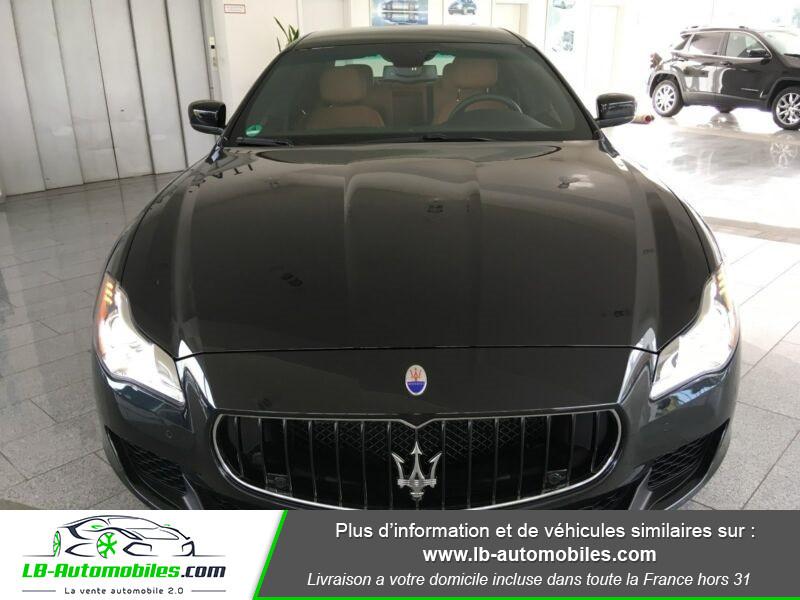 Maserati Quattroporte V6 3.0 Bi-Turbo 410 S Q4 / A Noir occasion à Beaupuy - photo n°10