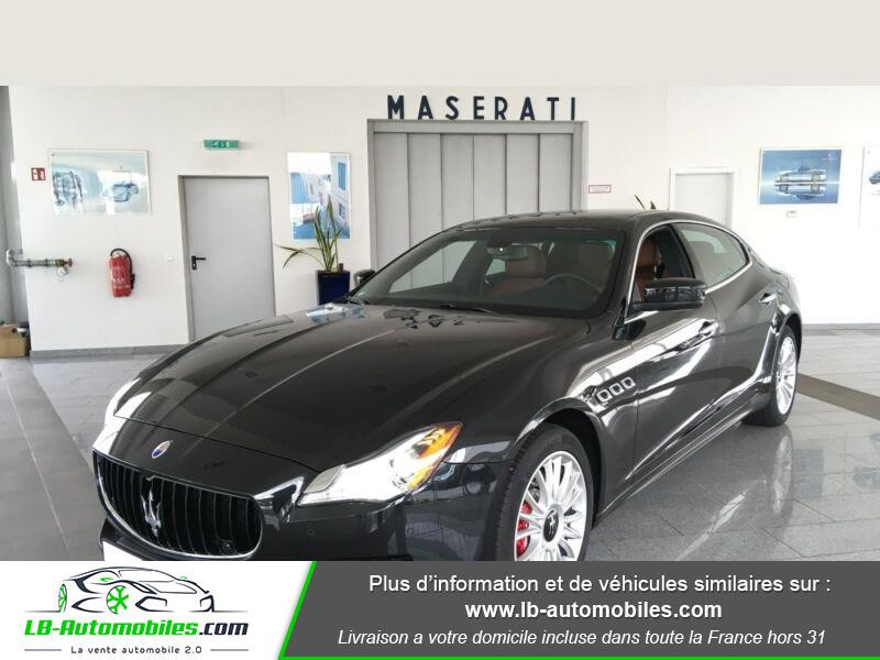 Maserati Quattroporte V6 3.0 Bi-Turbo 410 S Q4 / A Noir occasion à Beaupuy