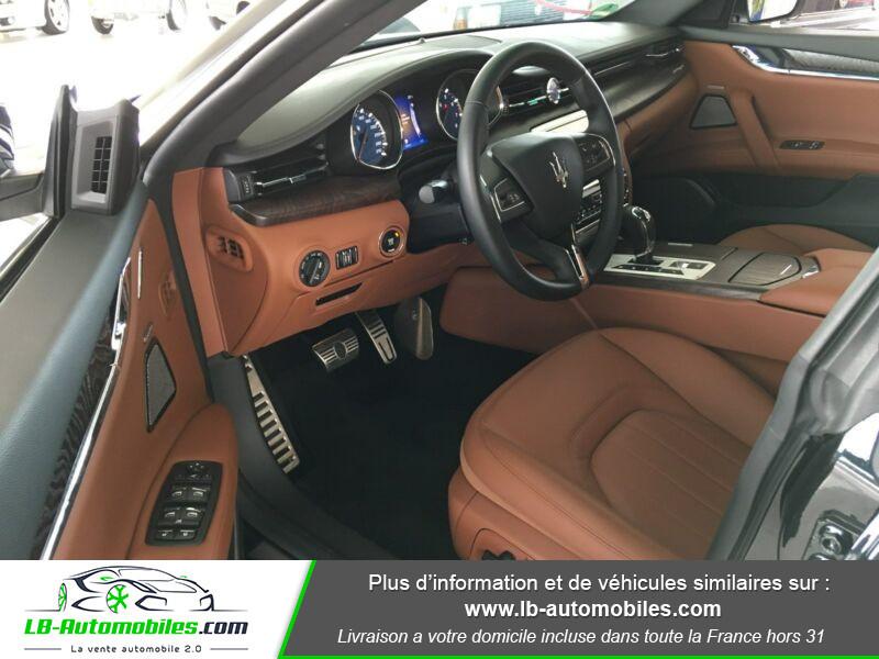 Maserati Quattroporte V6 3.0 Bi-Turbo 410 S Q4 / A Noir occasion à Beaupuy - photo n°4