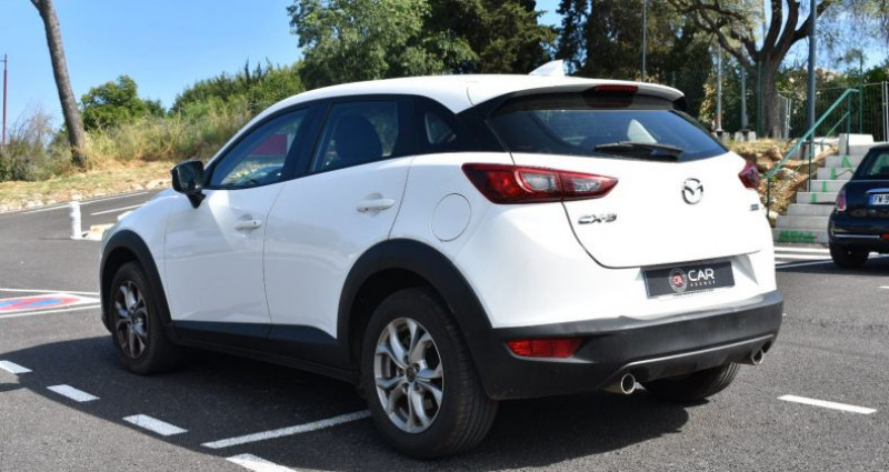 Mazda CX-3 1.5 D 105 Ch GARANTIE Blanc occasion à ANTIBES - photo n°7