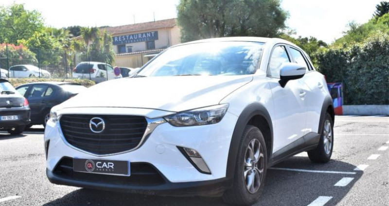 Mazda CX-3 1.5 D 105 Ch GARANTIE Blanc occasion à ANTIBES
