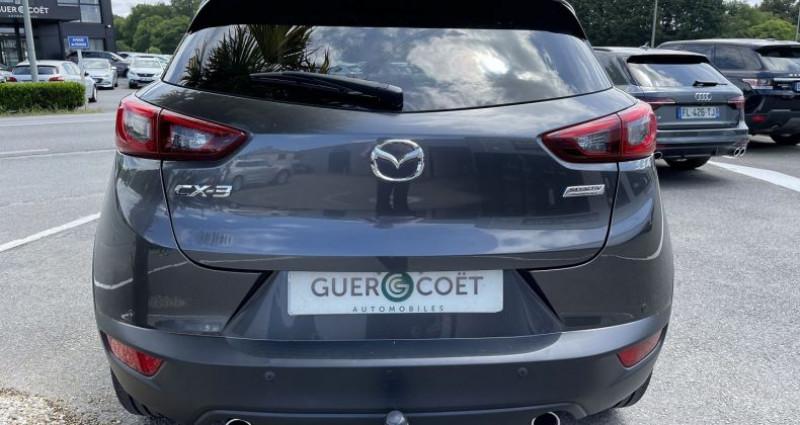 Mazda CX-3 1.5 SKYACTIV-D 105 DYNAMIQUE Gris occasion à GUER - photo n°4