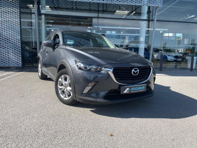 Mazda CX-3 1.5 SKYACTIV-D 105 Elégance Gris occasion à Saint-Herblain