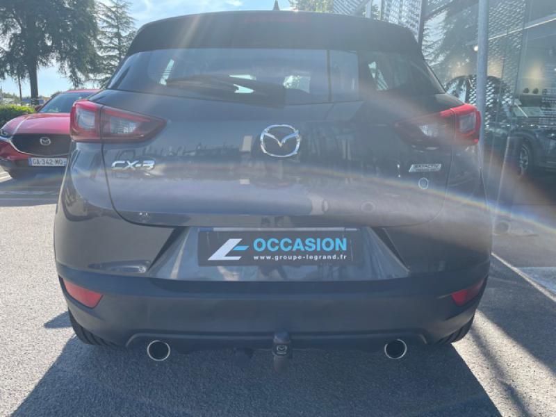 Mazda CX-3 1.5 SKYACTIV-D 105 Elégance Gris occasion à Saint-Herblain - photo n°6