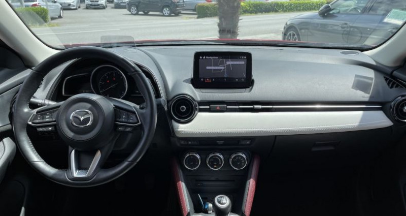 Mazda CX-3 1.5 SKYACTIV-D 105 SELECTION Rouge occasion à GUER - photo n°7