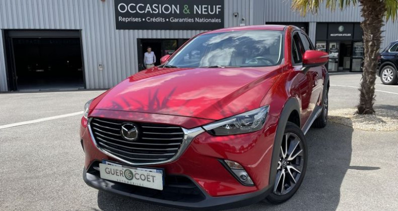 Mazda CX-3 1.5 SKYACTIV-D 105 SELECTION Rouge occasion à GUER - photo n°2
