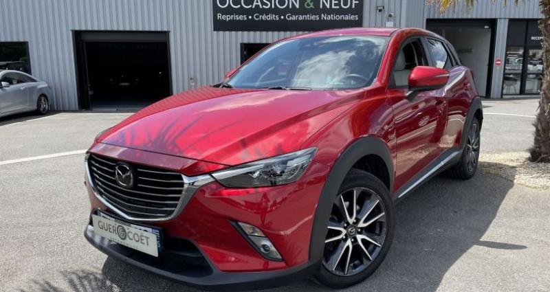 Mazda CX-3 1.5 SKYACTIV-D 105 SELECTION Rouge occasion à GUER