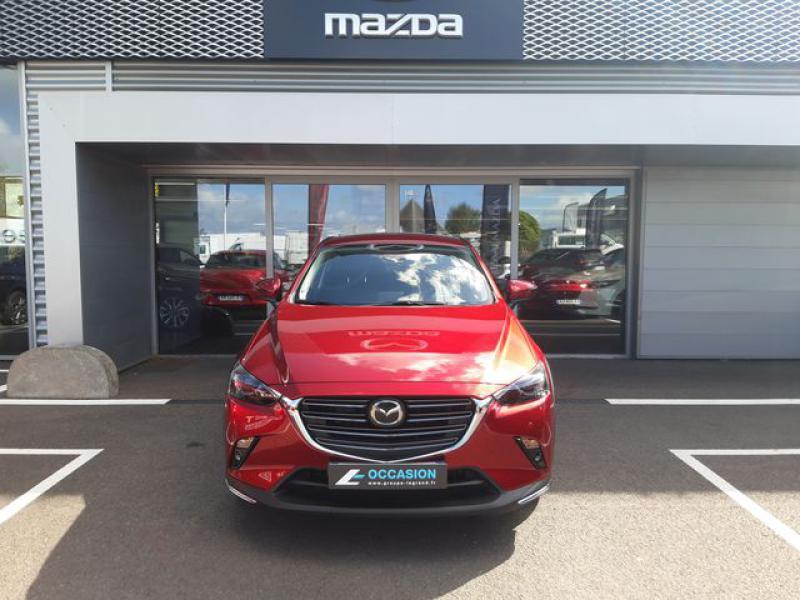 Mazda CX-3 1.8 SKYACTIV-D 115ch Sélection Euro6d-T  occasion à Cesson-Sévigné - photo n°7