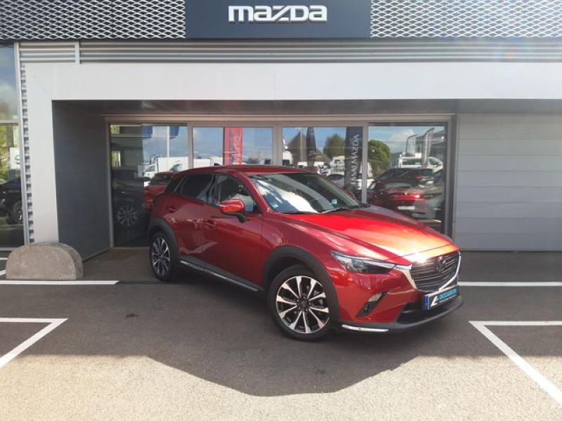 Mazda CX-3 1.8 SKYACTIV-D 115ch Sélection Euro6d-T  occasion à Cesson-Sévigné - photo n°2