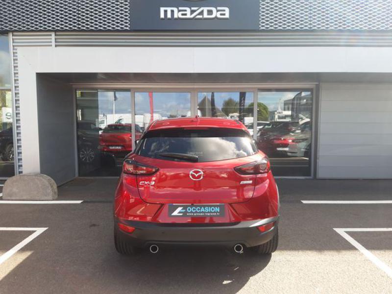 Mazda CX-3 1.8 SKYACTIV-D 115ch Sélection Euro6d-T  occasion à Cesson-Sévigné - photo n°8