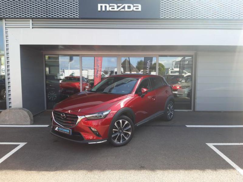Mazda CX-3 1.8 SKYACTIV-D 115ch Sélection Euro6d-T  occasion à Cesson-Sévigné